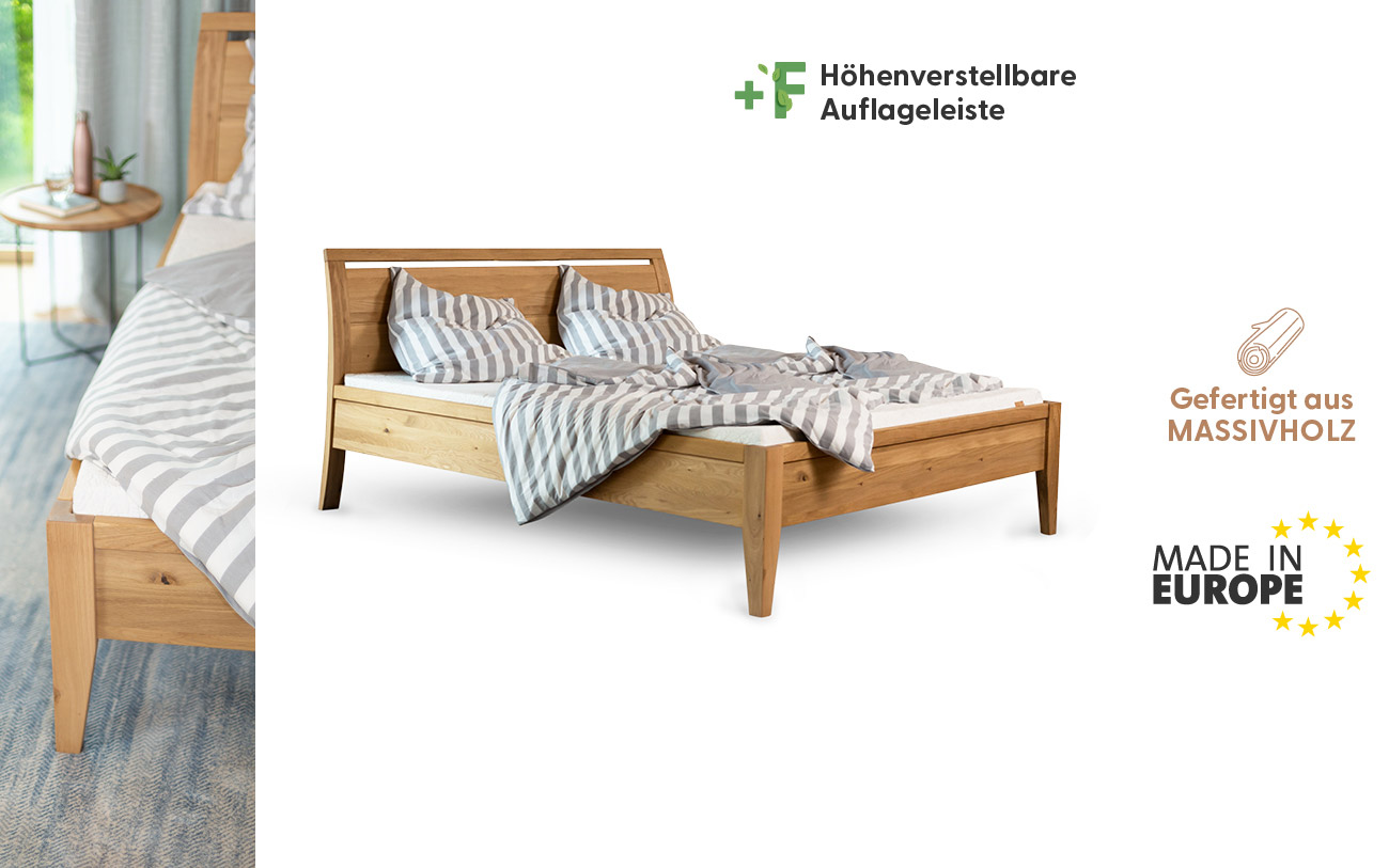 Holzbett 180x200 made in europe